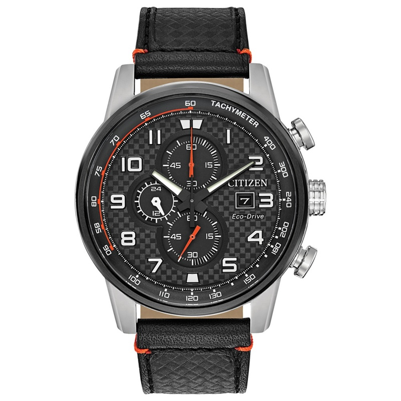 f62d03539f6 Citizen - Men s Black  Primo  Eco Drive Chronograph Leather Strap Watch  Ca0681-03E - £270.00 - Bullring   Grand Central