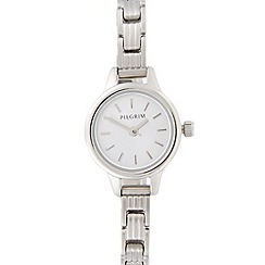 Pilgrim - Ladies stainless steel mini dial bracelet watch
