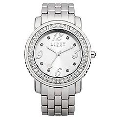 Lipsy - Ladies silver tone bracelet watch