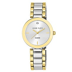 Anne Klein - Ladies two tone stainless steel watch