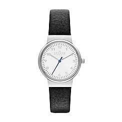 Skagen - Womens 'Ancher' leatheráwatchá