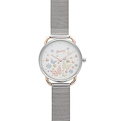 RJR.John Rocha - Designer ladies lilac embellished watch