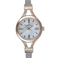 RJR.John Rocha - Ladies designer light purple skinny demi watch