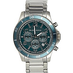 RJR.John Rocha - Men's designer dark grey sport chronograph watch