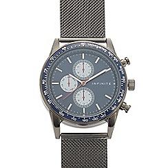 J by Jasper Conran - Men's designer black square watch