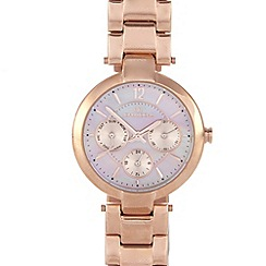 RJR.John Rocha - Designer ladies rose gold multi dial watch
