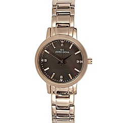 RJR.John Rocha - Ladies designer rose mini mop dial watch