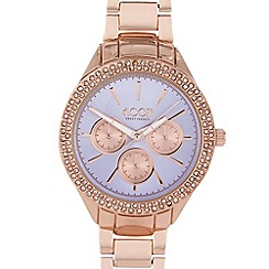 Floozie by Frost French - Ladies rose gold colour pop watch