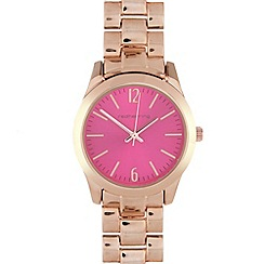 Red Herring - Ladies rose colour pop pink dial watch