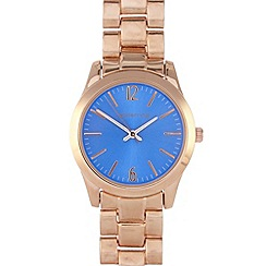 Red Herring - Ladies blue colour pop pink dial watch