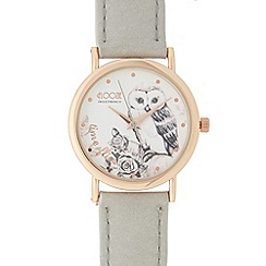 Floozie by Frost French - Ladies grey owl dial watch