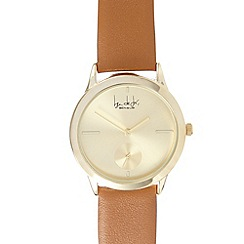 Principles by Ben de Lisi - Designer ladies tan leather sub dial watch
