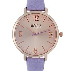 Floozie by Frost French - Ladies lilac analogue watch
