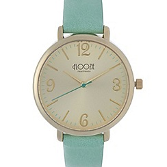 Floozie by Frost French - Ladies turquoise analogue watch