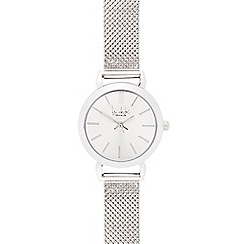 Principles by Ben de Lisi - Designer ladies silver mesh strap watch