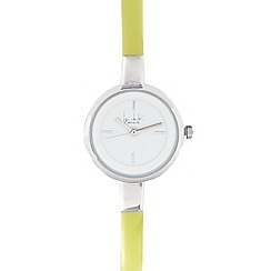 Principles by Ben de Lisi - Designer ladies lime skinny watch