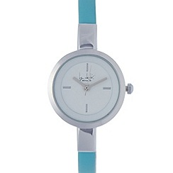 Principles by Ben de Lisi - Designer ladies blue skinny mini watch