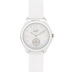 Principles by Ben de Lisi - Ladies designer white contrast analogue watch