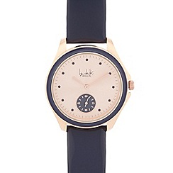 Principles by Ben de Lisi - Ladies designer navy contrast analogue watch