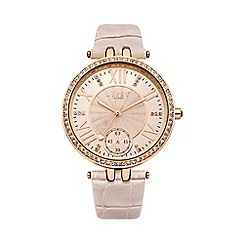 Lipsy - Ladies nude strap watch