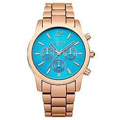 Lipsy - Ladies rose gold tone bracelet watch