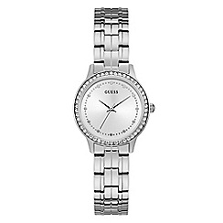 Lorus - Ladies Lorus Sparkle Collection silver bracelet watch with stones on bezel