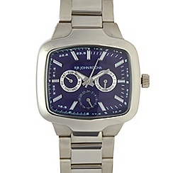RJR.John Rocha - Designer men's silver multi dial watch