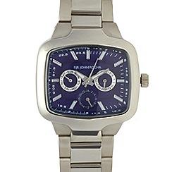 RJR.John Rocha - Designer men's silver multi dial watch