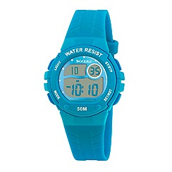 Tikkers - Tikkers blue rubber strap digital watch