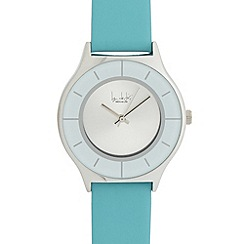 Principles by Ben de Lisi - Designer ladies blue leather strap watch