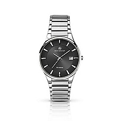Accurist - Men's sliver quartz bracelet watch