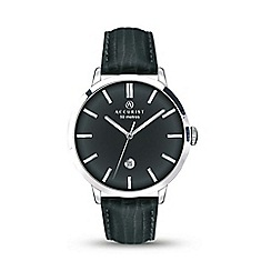 Accurist - Mens leather strap watch