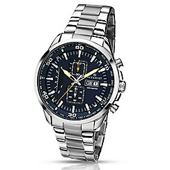 Accurist - Gents chronograph watch with bracelet.