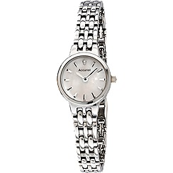Accurist - Ladies Bracelet watch with stone set mother of pearl dial