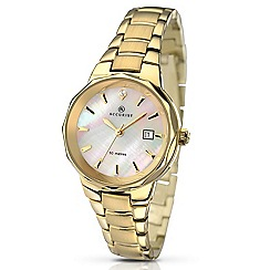Accurist - Ladies gold plated bracelet watch