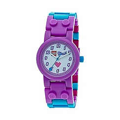 LEGO - Kids LEGO Friends Olivia watch with minifigure