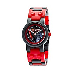 Lego - Kids  LEGO Star Wars Darth Vader watch with minifigure