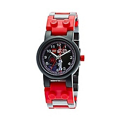 Lego - Kids  LEGO Star Wars Darth Maul watch with minfigure