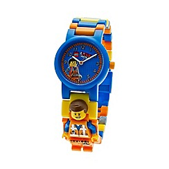 Lego - Kids  LEGO Movie Emmet minifigure link watch