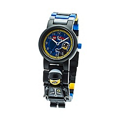Lego - Kids  LEGO Movie Bad Cop minifigure link watch