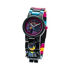 LEGO - Kids LEGO Movie Wyldstyle minifigure link watch