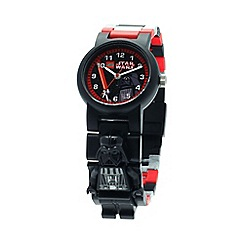 Lego - Kids  LEGO Star Wars Darth Vader minifigure link watch