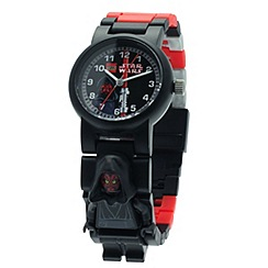 Lego - Kids  LEGO Star Wars Darth Maul minifigure link watch