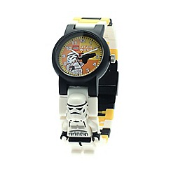 LEGO - Kids LEGO Star Wars Stormtrooper minifigure link watch