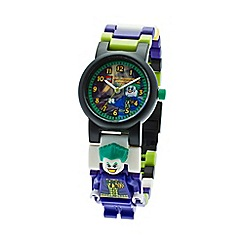 Lego - Kids  LEGO DC Super Heroes The Joker minifigure link watch