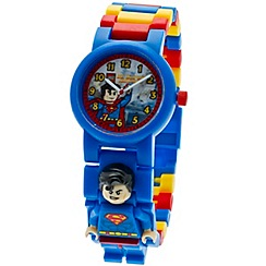 LEGO - Kids LEGO DC Super Heroes Superman minifigure link watch
