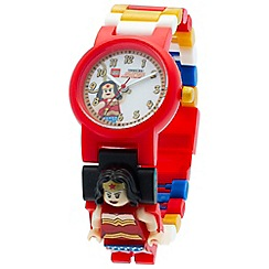 LEGO - DC super heroes wonder woman minifigure link watch