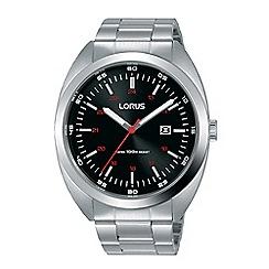 Lorus - Ladies silver rectangular bracelet watch