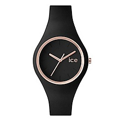 ICE - Ladies small black 'Glam' watch