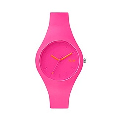 ICE - Neon Pink 'Chamallow' watch